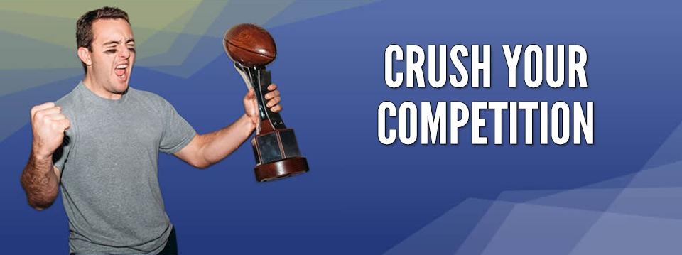 we help you crush your fantasy football competition