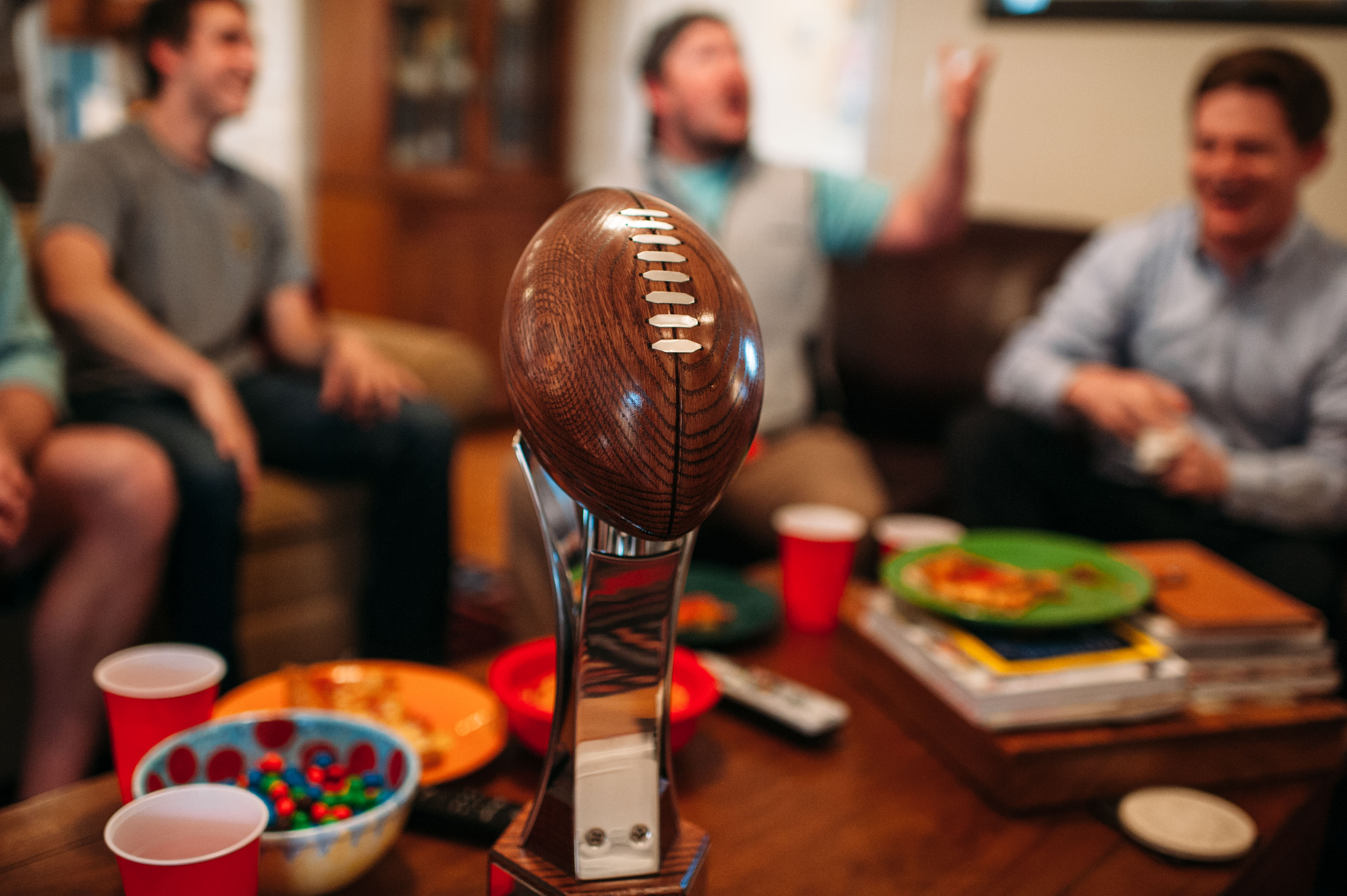 win your fantasy football league trophy
